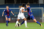 Spanish Women's Football League Iberdrola 2017/18 - Game: 9.<br /> FC Barcelona vs Madrid CFF: 7-0.<br /> Alba Mellado vs Natasha Andanova.