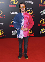 05 June 2018 - Hollywood, California - Pete Wentz. Disney Pixar's &quot;Incredibles 2&quot; Los Angeles Premiere held at El Capitan Theatre. <br /> CAP/ADM/BT<br /> &copy;BT/ADM/Capital Pictures