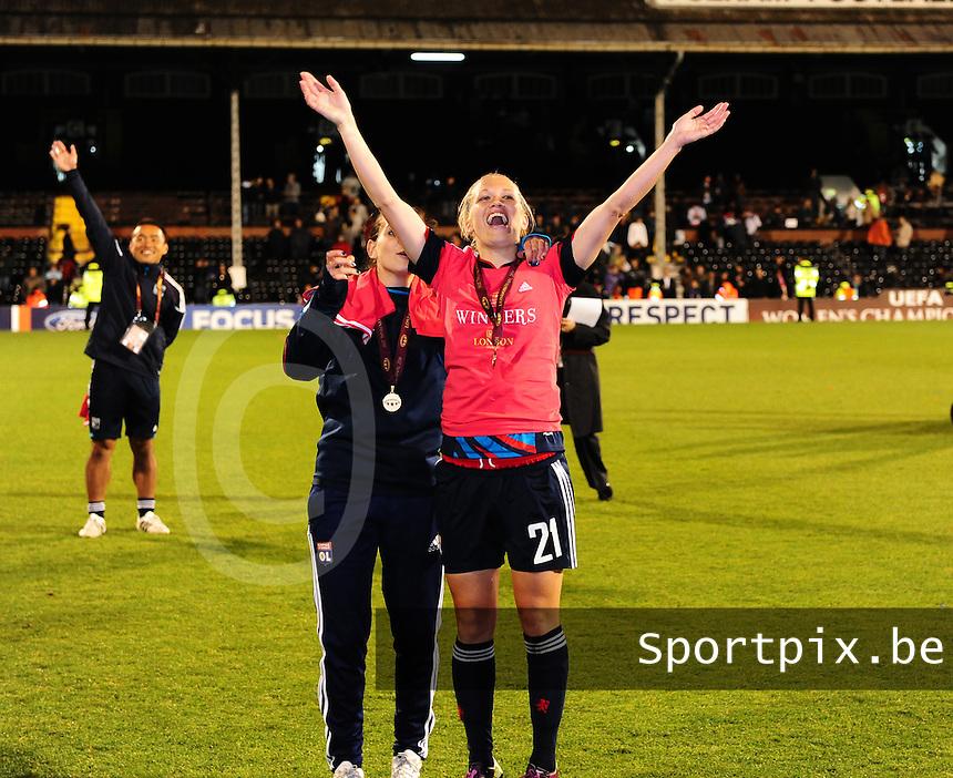Uefa Women 's Champions League Final 2011 at Craven Cottage Fulham - London :  Lara Dickenmann.foto DAVID CATRY / JOKE VUYLSTEKE / Vrouwenteam.be.