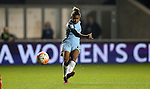 Nikita Parris of Manchester City Women during the Women's Champions League last 16 tie, first leg between Manchester City Women and Brondby IF at the Academy Stadium. <br /> <br /> Photo credit should read: Lynne Cameron/Sportimage