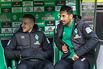 10.02.2019, Weser Stadion, Bremen, GER, 1.FBL, Werder Bremen vs FC Augsburg, <br /> <br /> DFL REGULATIONS PROHIBIT ANY USE OF PHOTOGRAPHS AS IMAGE SEQUENCES AND/OR QUASI-VIDEO.<br /> <br />  im Bild<br />  auf der Ersatzbank Kevin Möhwald / Moehwald (Werder Bremen #06)<br /> Claudio Pizarro (Werder Bremen #04)<br /> <br /> <br /> Foto © nordphoto / Kokenge