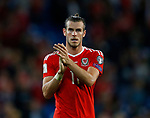 Gareth Bale of Wales applauds the fans during the World Cup Qualifying Group D match at the Cardiff City Stadium, Cardiff. Picture date 2nd September 2017. Picture credit should read: Simon Bellis/Sportimage