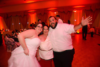 NEWARK, DE - OCTOBER 18: Brianne and Brian wedding October 18, 2014 in Newark, Delaware. (Photo by William Thomas Cain/Cain Images' Love Wedding Photos)