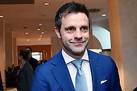 Nicola Rizzoli <br /> Roma 29-01-2018 Hotel Hilton Airport Assemblea elettiva FIGC Federazione Italiana Giuoco Calcio. Election Italian football association President. foto Antonello Sammarco/Image Sport/Insidefoto