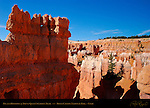 Fin and Hoodoos at top of Queen's Garden Trail, Bryce Canyon National Park, Utah