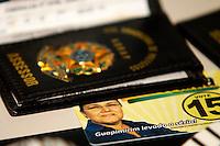 ATEN&Ccedil;&Atilde;O EDITOR: FOTO EMBARGADA PARA VE&Iacute;CULOS INTERNACIONAIS. - RIO DE JANEIRO,RJ,5 DE SETEMBRO DE 2012- Apreen&ccedil;&otilde;es realizadas na  manh&atilde; desta quarta-feira(5) durante a Opera&ccedil;&atilde;o os Intoc&aacute;veis. Apresenta&ccedil;&atilde;o  do material , no pr&eacute;dio da Secretaria de Seguran&ccedil;a P&uacute;blica. Regi&atilde;o  Central do RJ.<br /> ( GUTO MAIA / BRAZIL PHOTO PRESS )