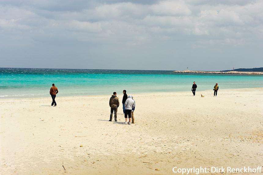 Strand  La Cinta bei San Teodoro, Provinz Olbia-Tempio, Ost Sardinien, Italien