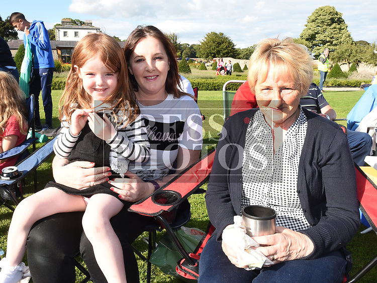 Emma, Emelia and Angela Phillips at the Chapterhouse Theatre Company's performance of The Wind in the Willows at Oldbridge Estate. Photo:Colin Bell/pressphotos.ie