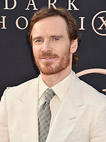 "HOLLYWOOD, CA - JUNE 04: Michael Fassbender arrives at the Premiere Of 20th Century Fox's ""Dark Phoenix"" at TCL Chinese Theatre on June 04, 2019 in Hollywood, California.<br /> CAP/ROT/TM<br /> ©TM/ROT/Capital Pictures"