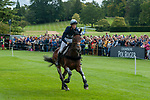 Stamford, Lincolnshire, United Kingdom, 7th September 2019, Arthur Duffort (FRA) riding Toronto D Aurois during the Cross Country Phase on Day 3 of the 2019 Land Rover Burghley Horse Trials, Credit: Jonathan Clarke/JPC Images