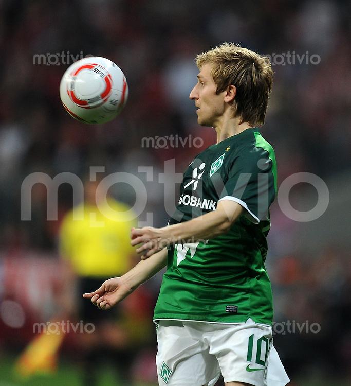 Fussball 1. Bundesliga :  Saison   2010/2011   3. Spieltag  11.09.2010 FC Bayern Muenchen - SV Werder Bremen Marko Marin (SV Werder Bremen)
