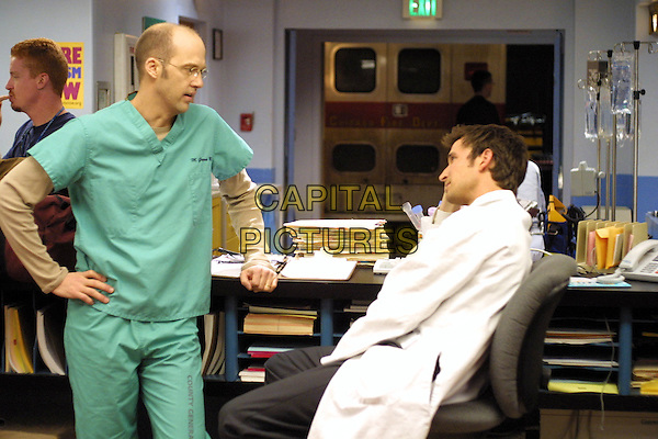 "ANTHONY EDWARDS & NOAH WYLE.in E.R. - ER.""Orion in the Sky"".Ref: 10342FBAW.*Editorial Use Only*.www.capitalpictures.com.sales@capitalpictures.com.Supplied by Capital Pictures."