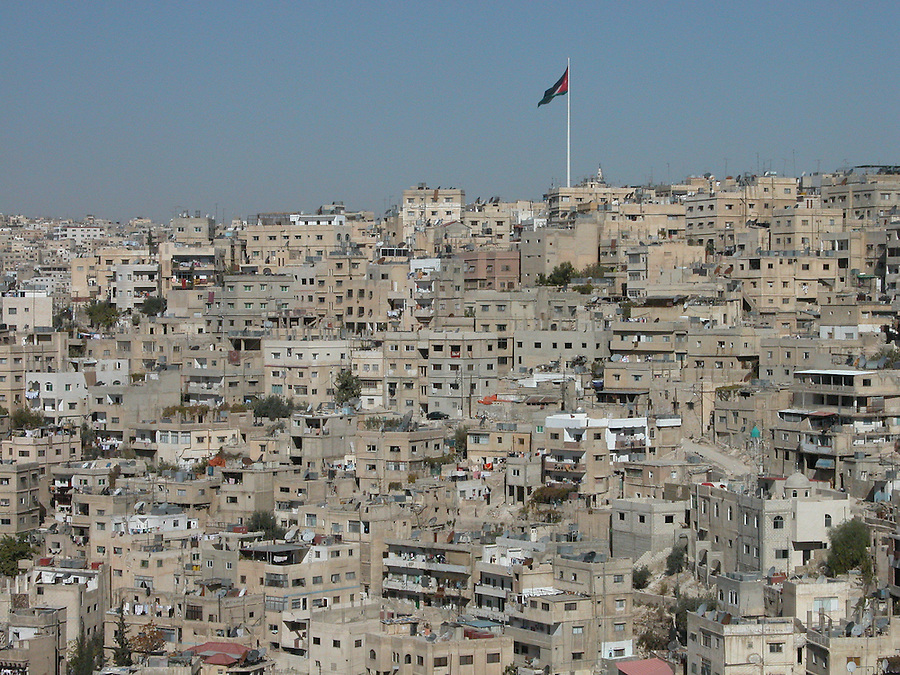 amman seen from ummayad palace