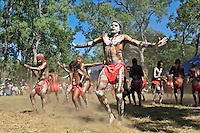 Kuranda Dancers 3,  Laura Aboriginal Dance Festival, Laura, Cape York Peninsula, Queensland, Australia.
