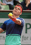 Milos Raonic (CAN) defeated Adrian Mannarino (FRA) 6-1, 7-6, 6-1