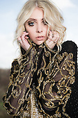 Jan 27, 2014: PRETTY RECKLESS - Taylor Momsen Photosession in Paris France