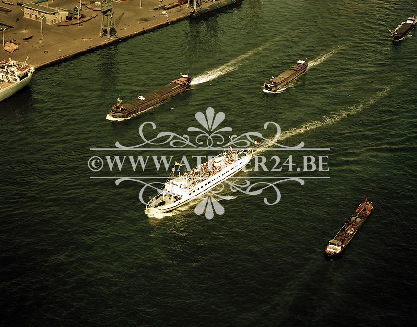 Juli 1972. Flandria op de Schelde.