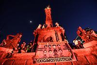 Marcha por #Ayotzinapa del #1DMX