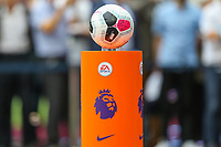 The official match ball for the Premier League match between West Ham United and Manchester City at the London Stadium, London, England on 10 August 2019. Photo by David Horn.