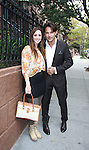 Christina Bennett Lind and Ricky Paull Goldin at All My Children's Good Night Pine Valley was held on September 17, 2011 at Prohibition, New York City, New York.  (Photo by Sue Coflin/Max Photos)