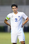 27 September 2016: Georgia State's Liam Fitzsimmons (ENG). The Duke University Blue Devils hosted the Georgia State University Panthers at Koskinen Stadium in Durham, North Carolina in a 2016 NCAA Division I Men's Soccer match. Georgia State won the game 2-1 in two overtimes.