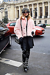 Paris, 24/01/2017<br /> Arrivals Looks at Chanel Haute-couture Fashion Show <br /> at the Grand-Palais<br /> &not;&copy; Matthieu Maury / AFLO<br /> INTERNATIONAL RIGHTS TO AFLO