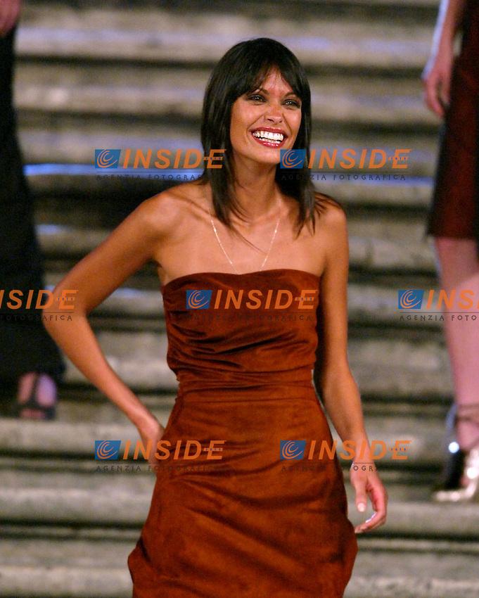 Roma 16 Luglio 2003 <br /> Donna Sotto le Stelle <br /> Fetrnanda Lessa per L'Oreal (acconciature)<br /> Foto Andrea Staccioli Insidefoto