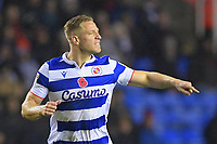 Michael Morrison of Reading scored the first goal during Reading vs Luton Town, Sky Bet EFL Championship Football at the Madejski Stadium on 9th November 2019