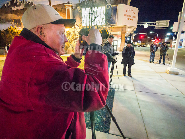 Night photography in downtown Winnemucca with Craig Moore, Shooting the West XXVII, Winnemucca, Nev.