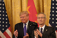 JAN 15 US Signs Phase 1 of the China Trade Deal at the White House