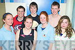 6351-6353.Gala - Competing in The Kingdom Swimming Club Christmas Gala at Tralee Sports Complex on Sunday were front l/r Caoimhe Marley, Maeve O'Brien, Avril Peevers and Rachel Smith, back l/r Mark Taylor, Chris Rogers and Declan O'Hara.
