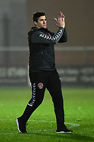 Fleetwood Town manager Joey Barton  applauds at the end of the match<br /> <br /> Photographer Richard Martin-Roberts/CameraSport<br /> <br /> The EFL Sky Bet League One - Fleetwood Town v Doncaster Rovers - Wednesday 26th December 2018 - Highbury Stadium - Fleetwood<br /> <br /> World Copyright &not;&copy; 2018 CameraSport. All rights reserved. 43 Linden Ave. Countesthorpe. Leicester. England. LE8 5PG - Tel: +44 (0) 116 277 4147 - admin@camerasport.com - www.camerasport.com