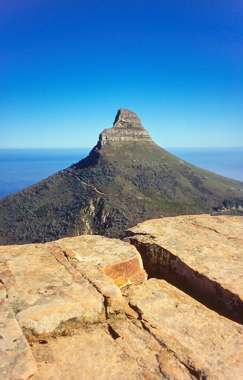 Table Mountain national park, South Africa, october 2017