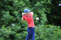 Charlie Mooney (Ballinasloe) during the Connacht U14 Boys Amateur Open, Ballinasloe Golf Club, Ballinasloe, Galway,  Ireland. 10/07/2019<br /> Picture: Golffile | Fran Caffrey<br /> <br /> <br /> All photo usage must carry mandatory copyright credit (© Golffile | Fran Caffrey)
