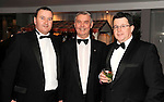 Adrian Kelly, Hugh Jordans, Brian McEniff, Brian McEniff Hotel Group, Damien Caldwell, Bunzl Rafferty Hospitality, at the Irish Hotels Federation Conference Gala Dinner in The Malton Hotel, Killarney on Tuesday night. Picture: MacMonagle, Killarney