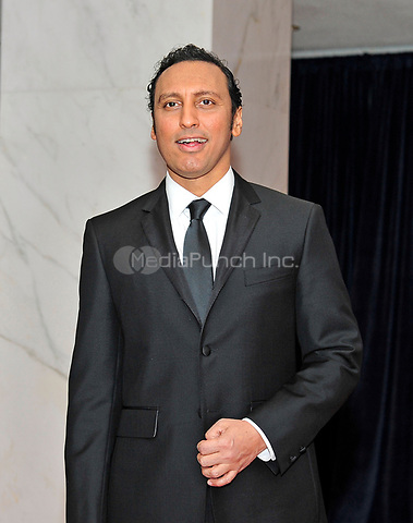 Aasif Mandvi arrives for the 2013 White House Correspondents Association Annual Dinner at the Washington Hilton Hotel on Saturday, April 27, 2013.<br /> Credit: Ron Sachs / CNP<br /> (RESTRICTION: NO New York or New Jersey Newspapers or newspapers within a 75 mile radius of New York City) /MediaPunch