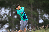 Alex Gleeson (IRL) during the first round of the European Amateur Championship played at the Royal Hague Golf and Country Club, The Hague, Netherlands. 27/06/2018<br /> Picture: Golffile | Phil Inglis<br /> <br /> All photo usage must carry mandatory copyright credit (&copy; Golffile | Phil Inglis)