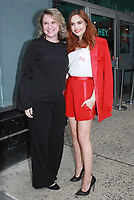 NEW YORK, NY - FEBRUARY 1: Stefne Miller, Bailee Madison at Build Series to promote the new book, Losing Brave on February 1, 2018. <br /> CAP/MPI/RW<br /> &copy;RW/MPI/Capital Pictures