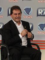 SAO PAULO, 10 DE JULHO de 2012.  SABATINA NA RECORD NEWS. O candidato a prefeitura de São Paulo, Paulo Pereira da Silva, durante  sabatina  no canal Record News. FOTO: ADRIANA SPACA : BRAZIL PHOTO PRESS