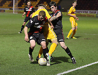 Motherwell v St Mirren Under 20 280313