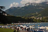 Europe/France/Rhône-Alpes/74/Haute-Savoie/Annecy; Les Bords du Lac et le Paquier