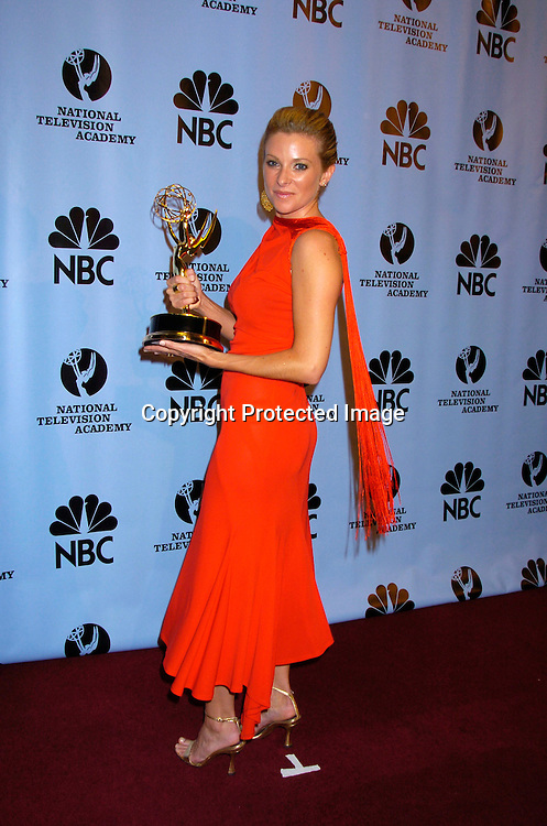 Cady McClain ..at the Daytime Emmy Awards on May 21, 2004 in the Press Room at Radio City Music Hall...Photo by Robin Platzer, Twin Images