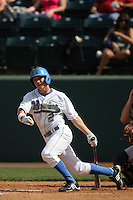 March 20, 2010: Niko Gallego (2) of UCLA during game against Oral Roberts at UCLA in Los Angeles,CA.  Photo by Larry Goren/Four Seam Images