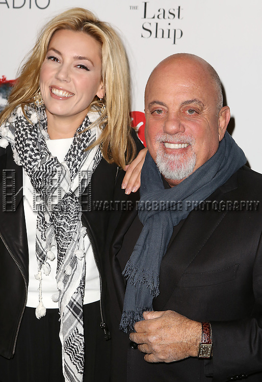 Billy Joel and Alexis Roderick attends the Broadway Opening Night performance of 'The Last Ship' at the Neil Simon Theatre on October 26, 2014 in New York City.