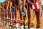 M&aacute;quina fotogr&aacute;fica digital com &iacute;ndio Kalapalo dan&ccedil;ando no Ritual Kuarup na Aldeia Aiha no Parque Ind&iacute;gena do Xingu | Digital camera with Kalapalo man dancing in the Kuarup Ritual at Aiha Village in the Xingu Indigenous Park<br /> <br /> LOCAL: Quer&ecirc;ncia, Mato Grosso, Brasil <br /> DATE: 07/2009 <br /> &copy;Pal&ecirc; Zuppani