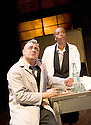 Little Eagles by Rona Munro. A Royal Shakespeare Company Production directed by Roxana Silbert. With Darrell D'Silva as Korolyov, Noma Dumezweni as Doctor. Opens at The Hampstead  Theatre on 21/4/11 CREDIT Geraint Lewis