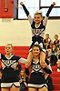 Plainview-Old Bethpage performs during the varsity segment of the Freeport Devil Winter Cheerleading Competition at Freeport High School on Sat, Dec. 16, 2017.