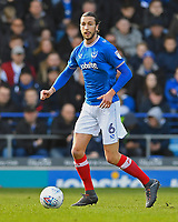 Christian Burgess of Portsmouth during Portsmouth vs Gillingham, Sky Bet EFL League 1 Football at Fratton Park on 10th March 2018