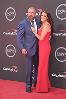 10 July 2019 - Los Angeles, California - Triple H, Paul Michael Levesque, Stephanie McMahon. The 2019 ESPY Awards held at Microsoft Theater. Photo Credit: PMA/AdMedia