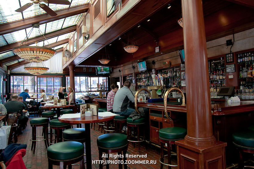Schmick's and Mc'Cormick's restaurant interior, Boston